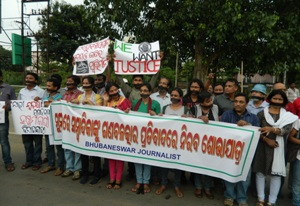 journo protest