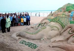 sand art president-PURI