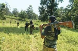 Anti Maoist operation combing securitymen_20100920
