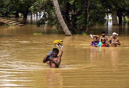 Flood-hit Baleswar (pic: courtesy The Hindu)