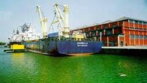riverine port