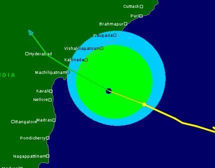 Very Severe Cyclonic Storm Lehar Impact Zone