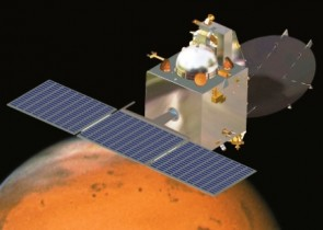 India's Mars Orbiter Mission spacecraft, the country's first Mars-bound probeCredit: ISRO artist's concept