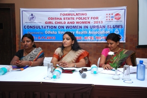 Photo - Consultation on Women in Urban Slum