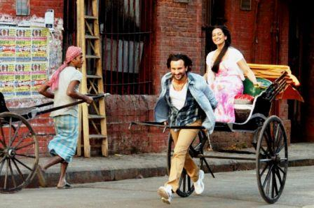 Saif and Sonakshi in Bullett Raja