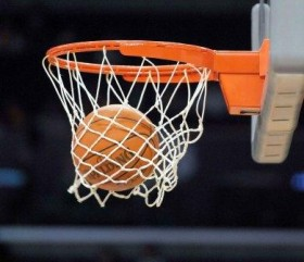 Nov 2, 2010; Los Angeles, CA, USA; General view of a basketball as it swooshes through the rim and net during the NBA game between the Memphis Grizzlies and the Los Angeles Lakers at the Staples Center.  Mandatory Credit: Kirby Lee/Image of Sport-US PRESSWIRE