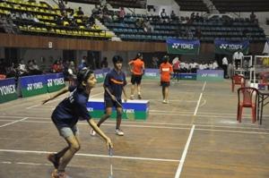 sub junior badminton