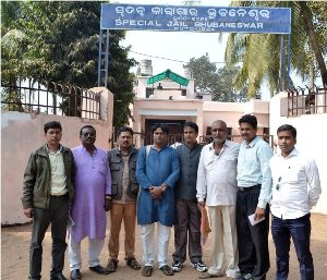 DIFFERENT PARTY MEMBERS MEET 26 ARREST NKS MEMBERS IN JHARPADA JAIL