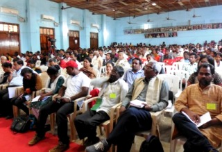 Delegates at the People's Tribunal, Bhubaneswar