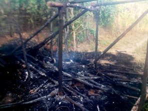 Hut Burnt