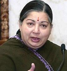 J. Jayalalithaa, AIIDMK Chief