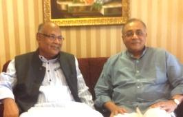 Kalpataru Das with VKishore Deo