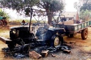 Maoists Attack Road Construction Camp Near Muniguda