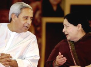 Naveen with Jayalalithaa