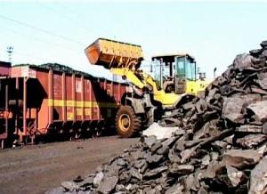Coal loading work resumed