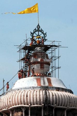 Jagannath Temple Under Repair 1