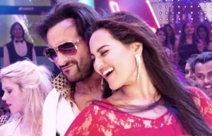 Saif Ali Khan and Sonakshi Sinha in 'Bullett Raja'