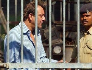 Sanjay Dutt In Jail