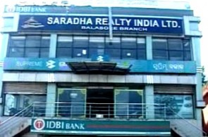 Saradha Realty office at Baleswar