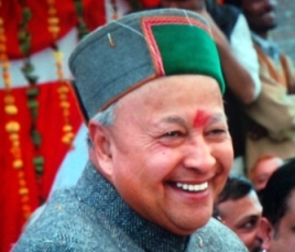 Virbhadra Singh, CM, Himachal Pradesh