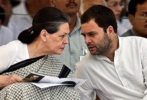 Gandhis : Mother and son