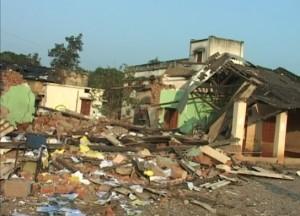 Padia block office razed to the ground