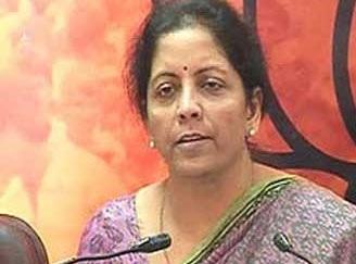 Nirmala Sitharaman, BJP spokesperson