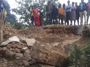 Kanyashram bridge in Padia blown up by Maoists