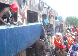 Andhra train fire
