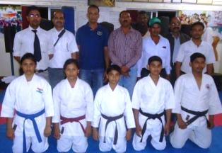 jr karate team
