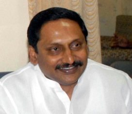 Kiran Kumar Reddy, CM, Andhra Pradesh