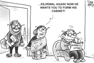 Cartoon by Sudhir Tailang (twitter.whotalking.com)