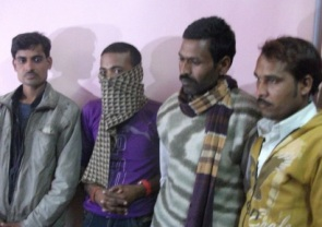 Arrested traffickers
