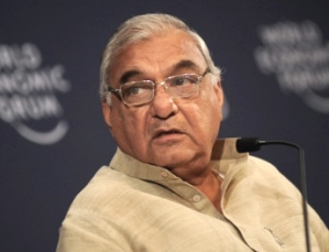 Bhupinder Singh Hooda, CM, Haryana
