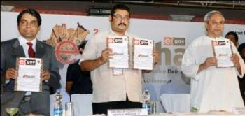 CM at e-Odisha summit