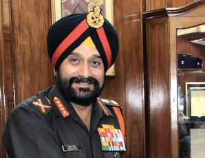 Indian Army Chief Gen Bikram Singh