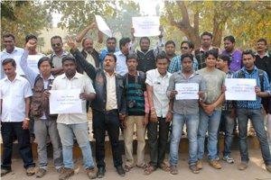 Journalists demanded for release of Samaj sub-editor