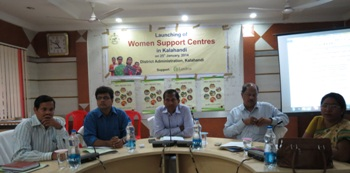 Launching of women Support centre-Kalahandi
