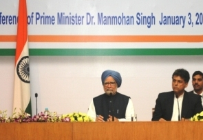 PM Dr Singh at the press conference on Jan 3, 2014