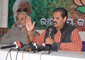 PRESS MEET OF THE BJP PARTY. (1)