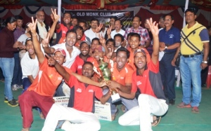 Scan Sporting team celebrating victory