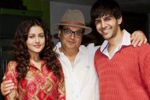 Ghai with Kartik & Mishti, lead pair in Kaanchi
