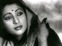 Suchitra in Bimal Roy's Devdas (1955)