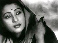 Suchitra in Bimal Roy's Devdas (1955)