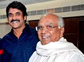 Nagarjuna with father ANR