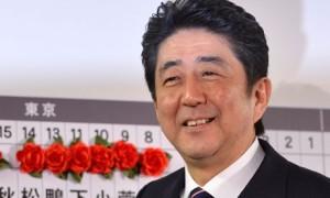 Shinzo Abe, Prime Minister, Japan
