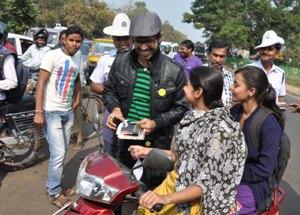 traffic awareness drive