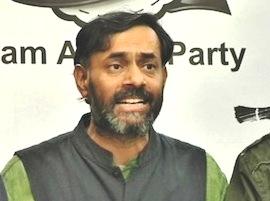 Yogendra Yadav, AAP