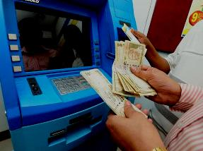 File pic of ATM booth