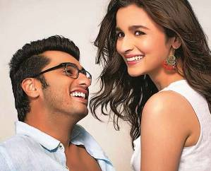 Alia with Arjun in '2 States'